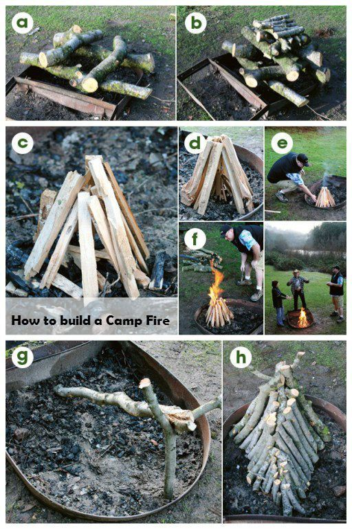 how to make a camp fire pit