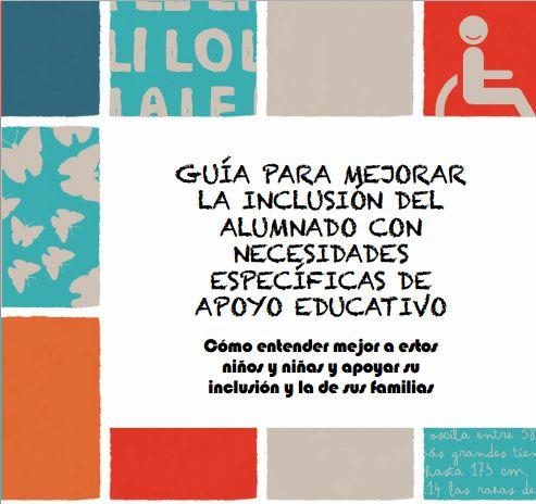 Materiales Para Mejorar  La InclusióN Del  Alumnado Con  Necesidades EspecíFicas De  Apoyo Educativo (Ceapa)