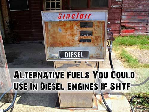 Alternative Fuels You Could Use In Diesel Engines If SHTF - SHTF Preparedness