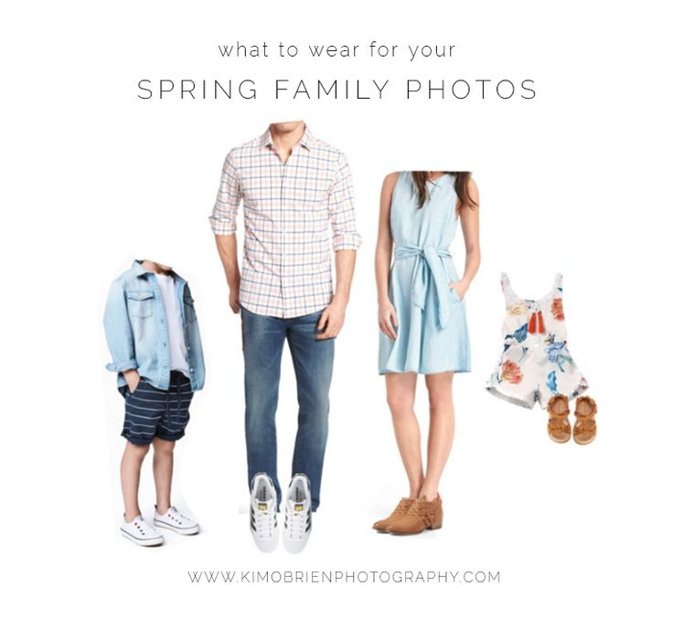 what to wear for your spring family photo session ~ wake forest north carolina family photography #whattowear