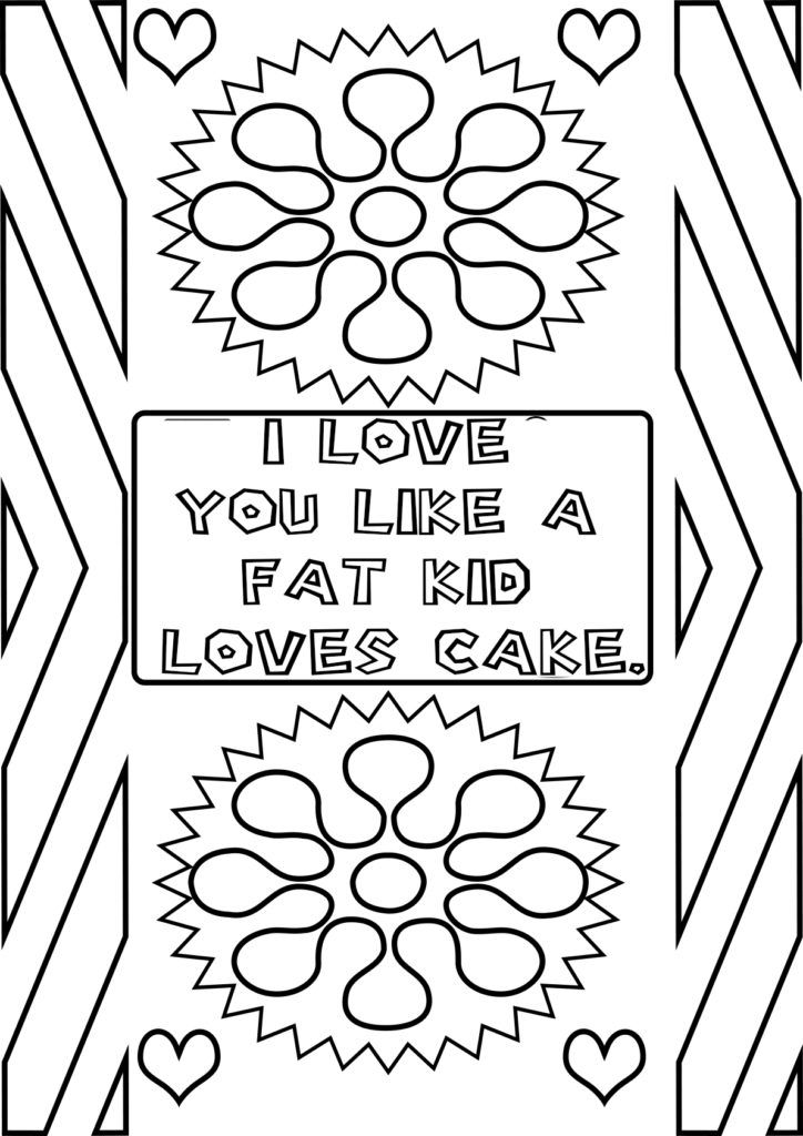 I Love You Quotes Coloring Pages Quote Coloring Pages Coloring Pages Valentine Coloring Pages