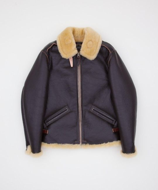 TYPE B-6 The iconic B-6 flight jacket has been reproduced by The Real McCoy's to…