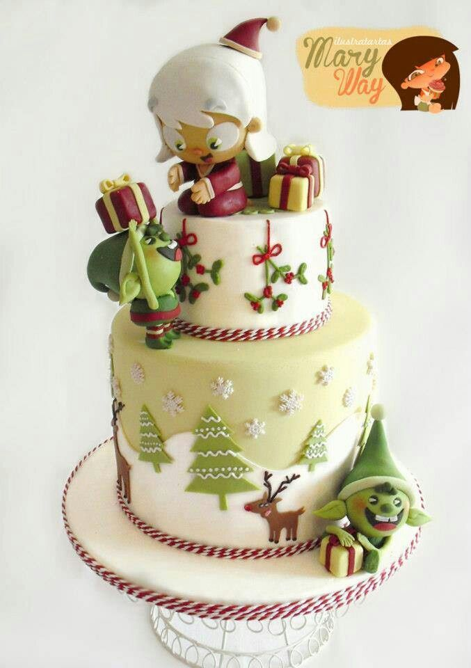 images of christmas cake - photo #49