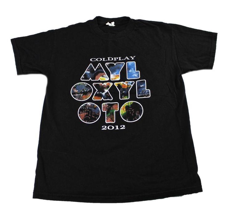 Coldplay MYLO XYLOTO 2012 Concert Tour Band Shirt Mens Size Medium