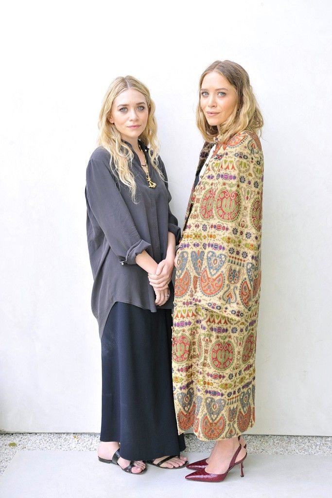 Ashley and Mary-Kate Olsen [Photo by Donato Sardella]