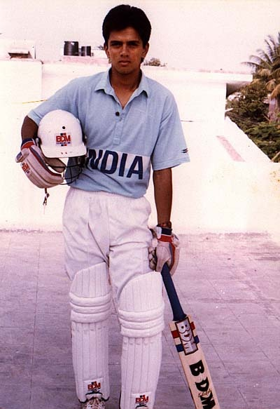Rahul Dravid's Childhood and Rare Pictures - teluguZOOM