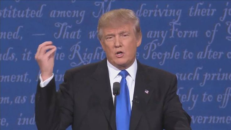 Donald TRUMP Sniffing MONTAGE PRESIDENTIAL DEBATE 2016 - YouTube