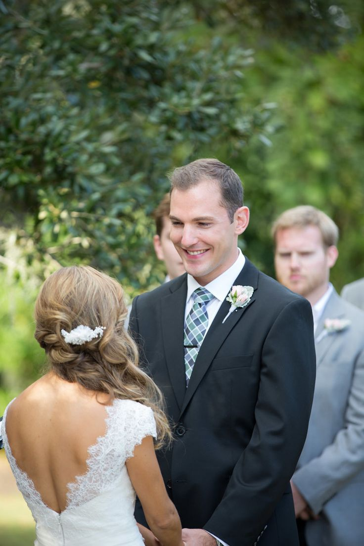 Photography: Theo Milo Photography - theomilophotography.com  Read More: http://www.stylemepretty.com/north-carolina-weddings/bald-head-island/2014/01/15/romantic-pink-green-wedding-at-bald-head-island-club/
