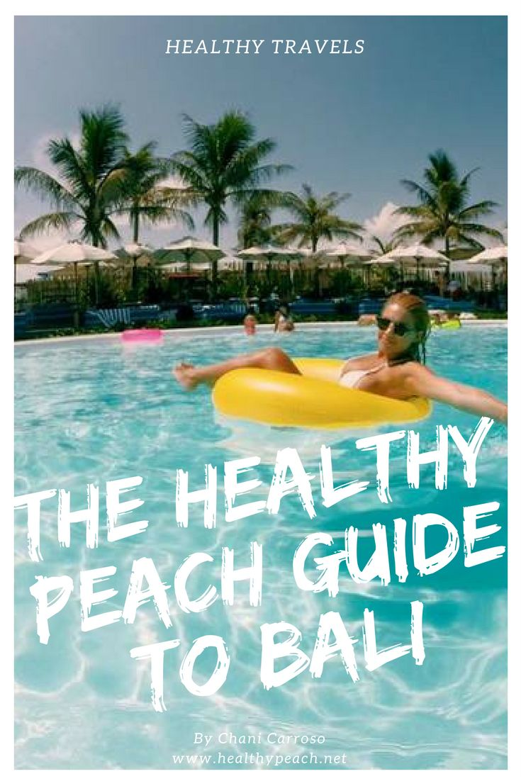 Some of you may have recently seen my beautiful trip to Bali via my Instagram.Since coming back I've been inundated with people wanting our itinerary details, so rather than re- writing it all out for everyone...I've decided to just blog it! So this is The Healthy Peach guide to Bali.Whether you're wanting a relaxing holiday with your babe, a healthy holiday or even a polar opposite fun trip away with the girls (or boys!), this guide will definitely help you find my favourite Bali top…