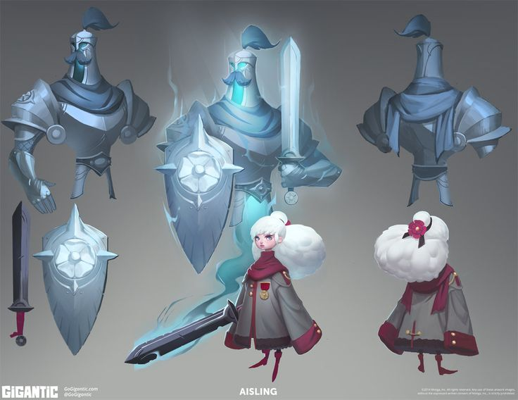 GIGANTIC - Aisling Concept Art by Gorrem ★ Find more at http://www.pinterest.com/competing