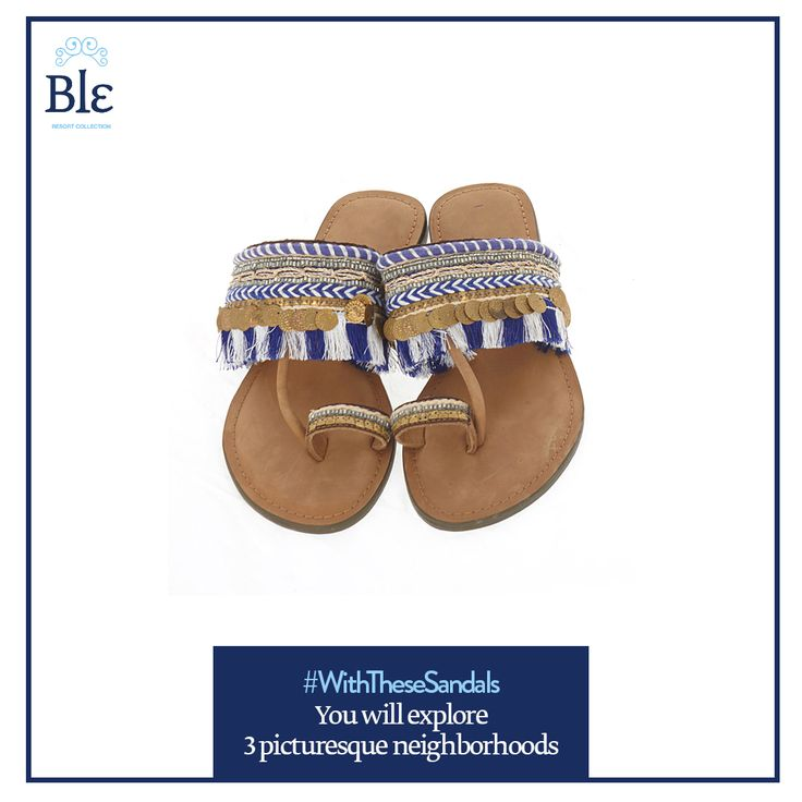 #‎WithTheseSandals‬ your summer holidays will become an exploration.  Have fun!  http://www.ble-shop.com/sandals/leather/leather-sandal-in-turquoise-brown-color.html  ‪  #BleResortCollection #SummerFashion #Style #SummerStyle #Sandals #SummerWear #Summer #Aegean #Mediterranean