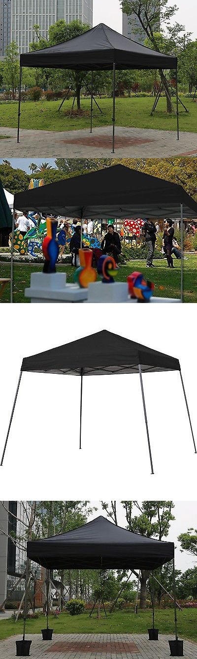 Canopies and Shelters 179011: Instant Canopy Tent Outdoor Pop Up Ez Gazebo Patio Beach Camping Sun Shade 10X10 -> BUY IT NOW ONLY: $112.62 on eBay!