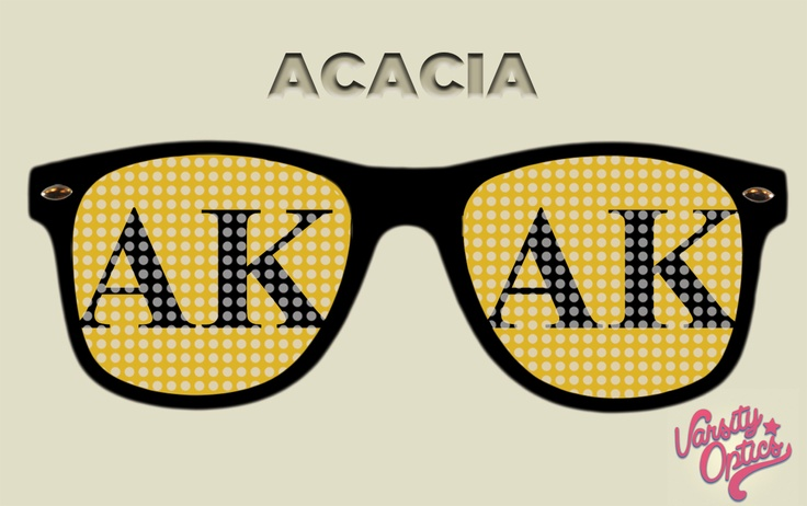 ACACIA showstopper glasses - email david@varsityoptics.com to order.      #acacia  #fraternity apparel  #pinhole glasses