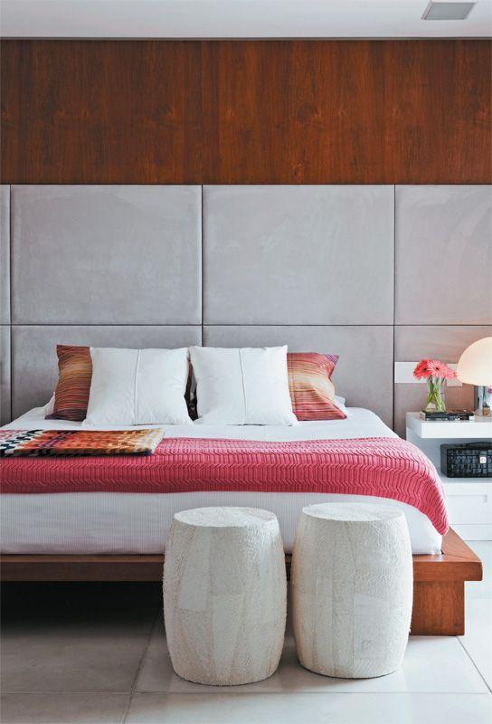 Zen and pink bedroom