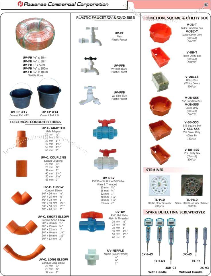 Plumbing Plumbing Diy Plumbing Electrical Conduit Fittings