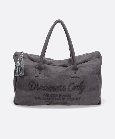 Dreamers only weekend bag - OYSHO