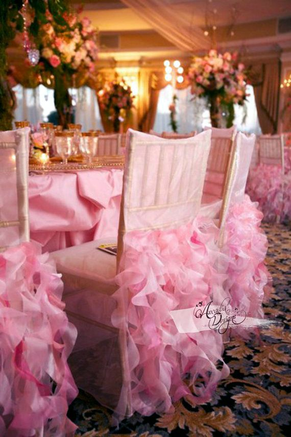 Curly Willow Bridal Chair Cover Wedding
