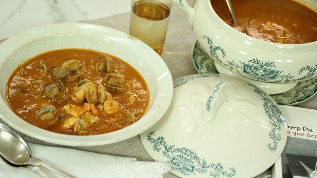Sopa de pescado de 'Robin Food'