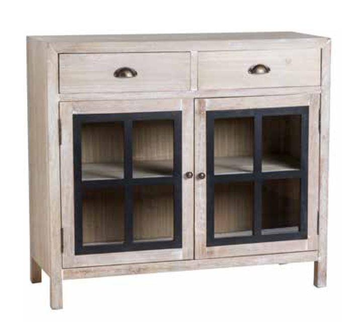 Aparador de 2 puertas colecci n bali muebles de estilo for Muebles muy baratos