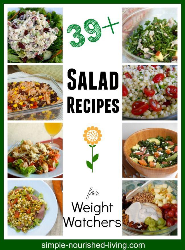 BEST WEIGHT WATCHERS SALAD RECIPES, LIGHT + HEALTHY