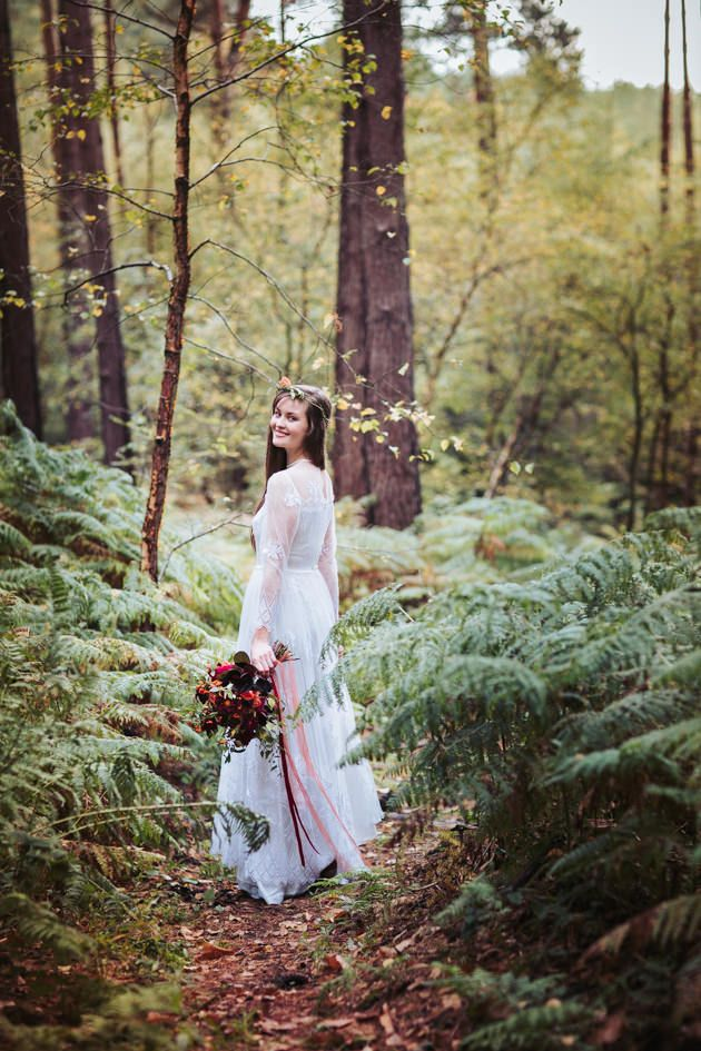Autumn wedding ideas | Boho wedding ideas | Rustic Wedding ideas | Wedding Photographer | Yorkshire wedding photographer | forest wedding | Fox Tail Photography | www.foxtailphotography.co.uk