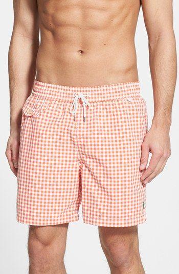 319fab2a42 Polo Ralph Lauren 'Traveler' Swim Trunks | Men's Swim trunks | Swim trunks,  Trunks, Polo ralph lauren