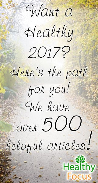 Have a healthy 2017, by visiting healthyfocus.org/. A lot of good info about Essential Oils, supplements, beauty hacks & many other natural remedies!
