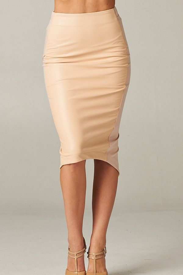 Best 25  Leather pencil skirts ideas on Pinterest | Black leather ...