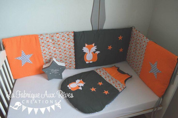 21 best décoration chambre bébé orange et gris / orange and grey ...