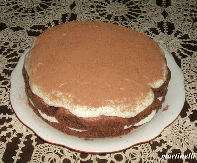 Grízkrémes kakaós torta