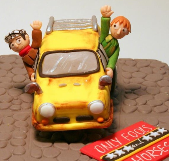 Only Fools And Horses Cake Toppers