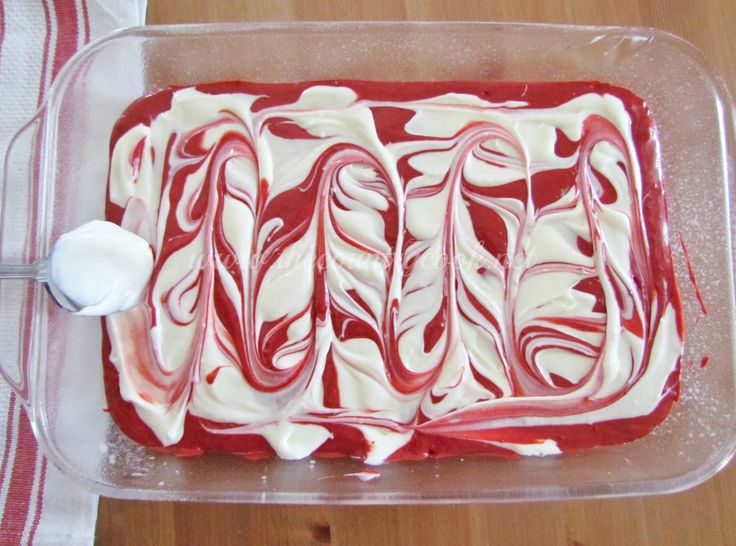 Red Velvet Cheesecake Cake is a super simple version of the cake at Cheesecake Factory. This one uses a boxed cake mix and an easy cheesecake filling! YUM!