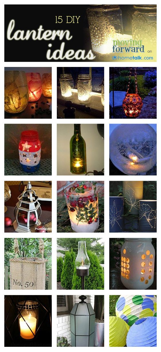 15 DIY Luminous Lantern Projects!