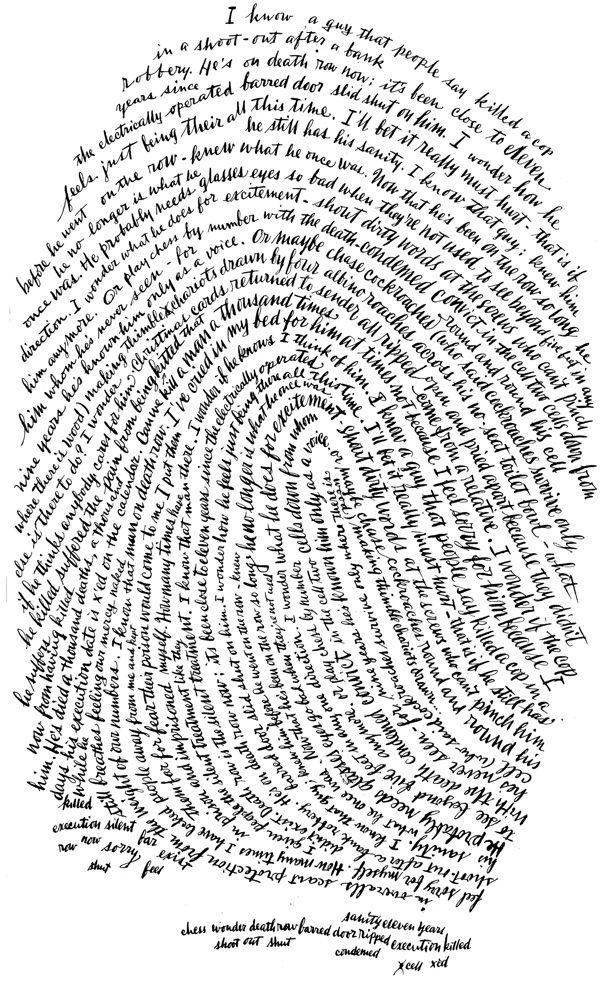 Bernard Maisner / calligraphie - calligramme