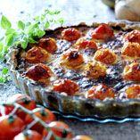 Tomattærte - Opskrifter    http://www.dansukker.dk/dk/opskrifter/tomattaerte.aspx  #dansukker #tomat #tærte #sommer #tomattærte