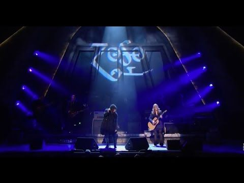 """An amazing tribute to the legendary/iconic rock band Led Zeppelin. Heart did a FANTASTIC job singing """"Stairway to Heaven"""" backed by a gospel choir and with the late John Bonham's son, Jason Bonham, on drums - brought Robert Plant to tears as he sat with Jimmy Page and John Paul Jones. Very moving indeed - wish I could have been there!"""