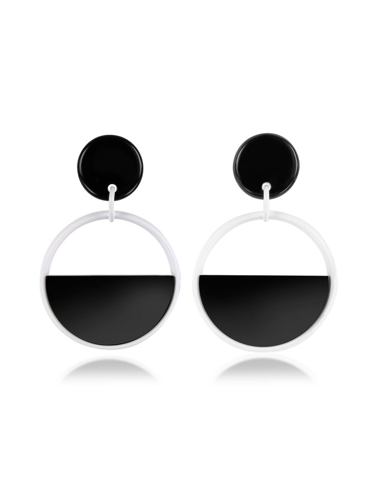 Marni Lily White Resin Earrings at FORZIERI