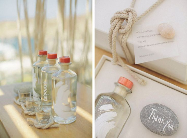 wedding giveaway gifts | wedding in Ios Cyclades | www.bemyguest.com.gr