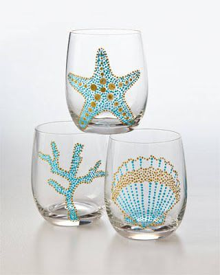 259 best decoração praia images on Pinterest Beach crafts - k chenr ckwand glas motiv