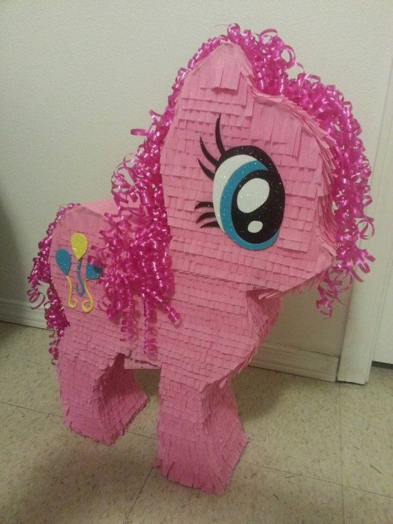 My Little Pony Pull String Pinata by TristaWindham on Etsy