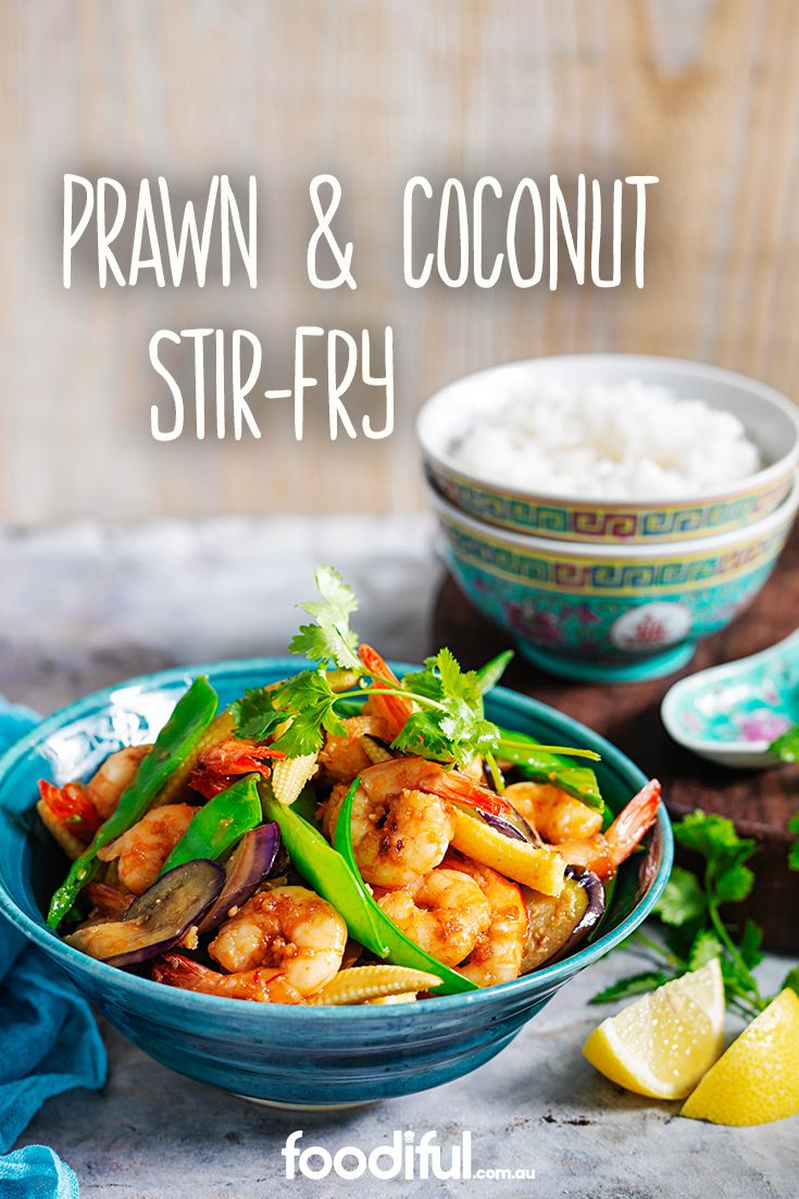 This diabetic-friendly stir-fry is a great prawn recipe! It has eggplants, corn and red chillies, and is a great weeknight meal, as it only takes 30 minutes! This recipe serves two.