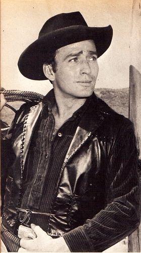 """James Drury (""""The Virginian"""" - 1962-1971 - in Germany: """"Die Leute von der Shilo-Ranch"""")"""
