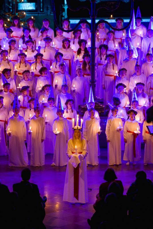 Sankta Lucia Day. It's time to celebrate the light December 13th