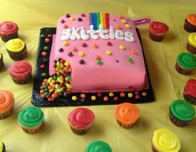 Skittle Cake Recipe Uk