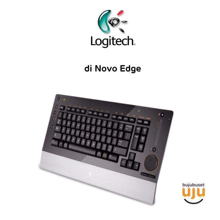Logitech diNovo Edge Bluetooth With Touchpad Mouse  IDR 1.690.000