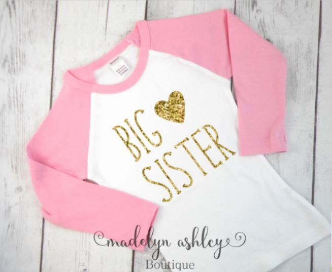 Big Sister Shirt-Big Sister Announcement Shirt-Big Sister Outfit-Big Sister Shirt Announcement-Big Sister Shirt-Pink Raglan Top by MadelynAshleyBtq on Etsy https://www.etsy.com/listing/256908065/big-sister-shirt-big-sister-announcement