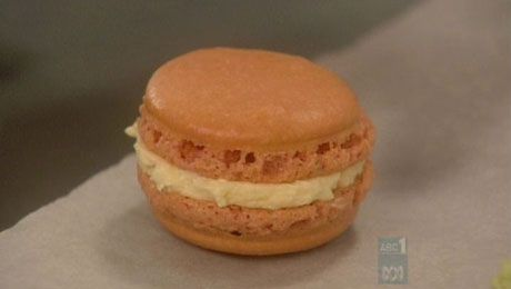 Lychee Macarons - Recipes - Poh's Kitchen