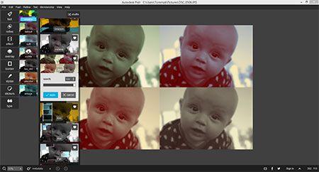 Skapa snygga effekter i det nya och gratis digitalfotoprogrammet Pixlr for Desktop