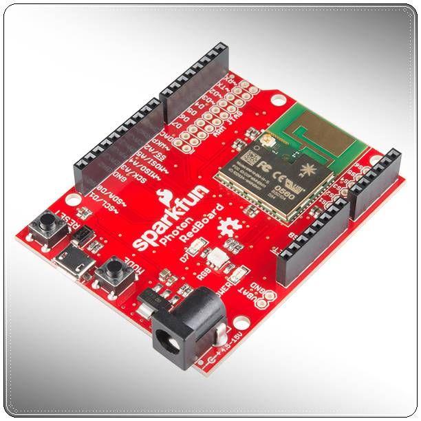 2R Hardware & Electronics: SparkFun Photon RedBoard | Arduino. Electronics projects. Development board