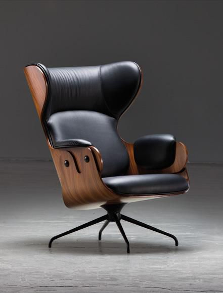 Executive office or swanky lounge swivel chair.                              …
